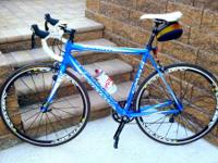 For sale is a 2012 Cannondale CAAD8 105 with wheel set