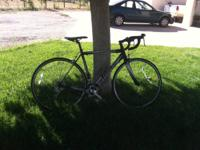 "This is a moderately used 51"" Cannondale CAAD8 with"