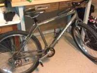 "I have a Cannondale 18"" CAM2 I no longer have time to"