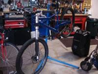 Custom Ordered Blue from Cannondale Profet with lefty