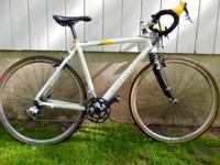 Cannondale TJ X 55cm cyclocross/road bike with terrific