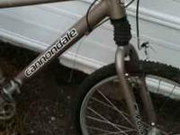I have a cannondale F300 mountain bike looks great