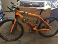 For sale I have a Cannondale F400 MTB. This bike is 24