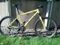 For sale I have my 2001 Cannondale F500. CAAD 3