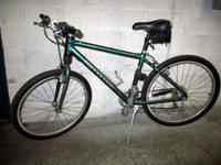 Cannondale F500 mountain bike with hybrid tires  $150