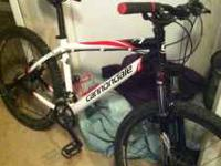 hello everyone today im posting my cannondale f7 bike