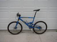 CANNONDALE JEKYLL 900SL FULL SUSPENSION MOUNTAIN BIKE