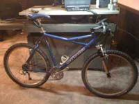 I have a Cannonadle Killer V500 Mountain bike with a