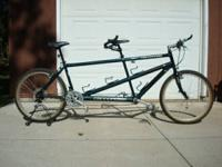 US made Cannonale full aluminum mountain tandem in