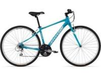 I am selling a brand new cannondale quick womens bike.