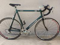Outstanding 1998 Cannondale r800 Road bike! Big 56""
