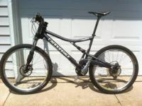 2006 Cannondale Rush 1000 Mountain bicycle, size XL, in