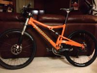 Used very good condition Cannondale Rush, minor