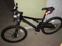 2009 Cannondale Rush MTN Bike for sale. Bike is in good