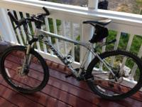 I have a Cannondale SL4 mountain bike in excellent