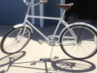 I have a brand new Cannondale street/beach cruiser made