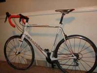 2009 Cannondale Synapse 6 road bike. Road once 10 miles
