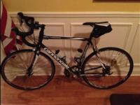 Cannondale Synapse road bike for sale. The bike is