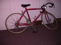 Completely refitted CANNONDALE 15 speed touring bike,