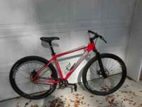 2010 Cannondale trail sl 29er size large rigid