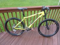 I am selling my Cannondale F2 Caffeine Mountain Bike -