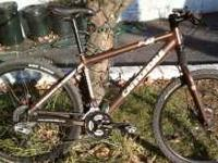 I have a mint condition Cannondale F4 medium frame with