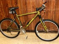 This listing is for a Cannondale F500 CAD2 24 Rate