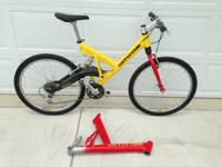 Cannondale Full Suspension Mountain Bike for sale.