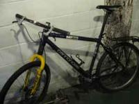 Used cannondale f-700 frame from the late 90s. Has some