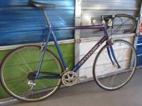 Cannondale Roady all set to roll. Purple R500 Large 58