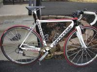 I am selling a Cannondale Super Six , The 52cm all