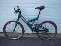 Bicycle, Cannondale Super V SL, Super Fatty Headshok,
