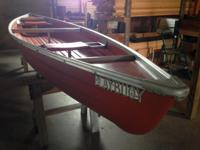 "Canoe 17ft Long 42"" Wide Playbouy ""Like New"" Comes with"