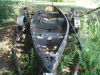 Old Town Sportsman Saranac Edition Canoe - trolling