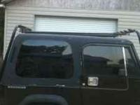Rack with brackets for jeep yj $150 obo or trade for