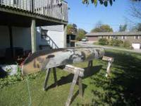 I have a 15 foot fiberglass canoe for sale for $225. It