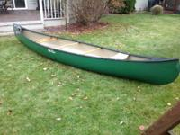 This is an Old Town 17 ft. 2 in. Tripper Canoe for