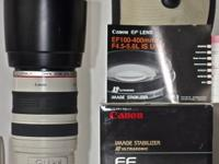 Canon EF 100-400mm f/4.4 - 5.6 L IS USM with Lens Case