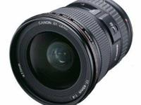 I'm offering my like new Canon 17-40mm L Lens with