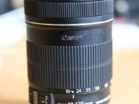 In excellent condition Comes with Canon EW-73B Lens