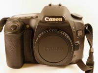 A gorgeous condition Canon 30D Digital SLR video camera
