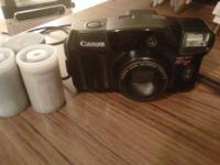 Canon sure shot 80 Tele 35 mm point and shoot camera,