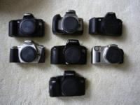 Your choice, $50 each , 35mm film slr camera, have