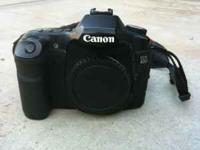 Canon 40D for sale. Comes with 3 batteries, one