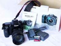 Selling my Canon 40D. Would like $750 for it OBO. This