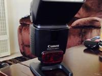 Canon 430ex II speedlight fantastic condition. Used