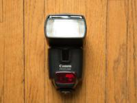 Excellent 430EX Speedlight Flash, gently used, no