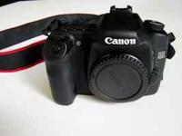 For sale is a 50d body. It is in great shape, just came