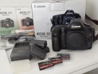 Canon 5D (original 12.8MP digital SLR) This camera is