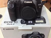 Hello All ... I am offering my Canon 5D Mark II. It is